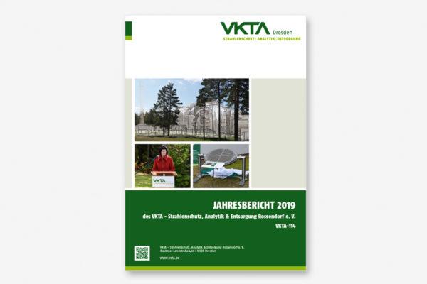 Cover des Jahresberichtes 2019